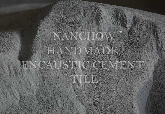 NANCHOW: handmade cement tiles
